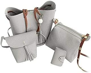 Divine Voguish Trendy PU Women's Handbags (Pack Of 4)