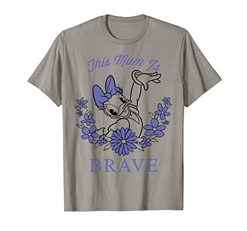 Disney Daisy Duck This Mum Is Brave Pose Graphic T-Shirt