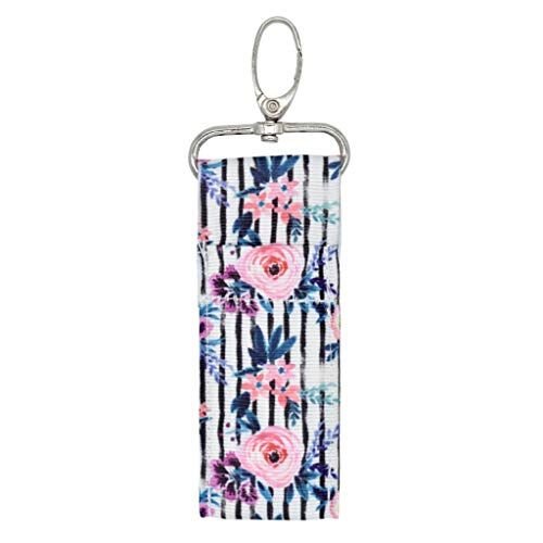 ZZALLL Coloré Imprimé Chapstick Porte-clés Porte-Rouge À Lèvres Poche Sac De Rangement Porte-clés - 8#