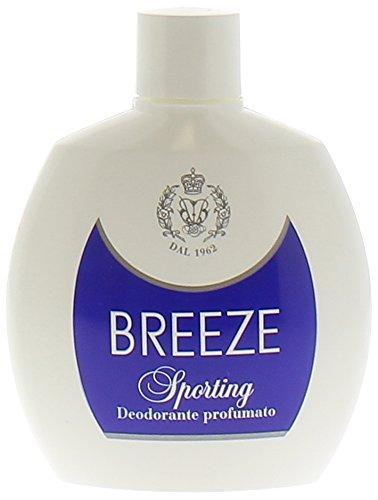 Breeze Desodorante SPORTING apretón 100ml NO GAS
