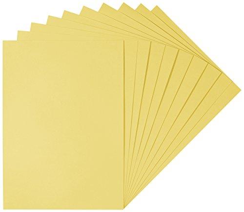 Herlitz 227108 kartonnen doos 50 x 70 cm, 10 stuks, wit goud