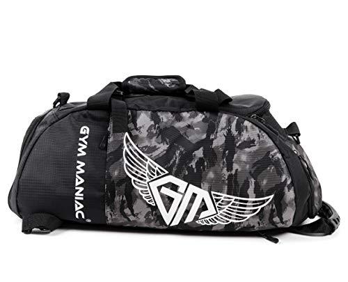 Gym Maniac GM 3-Way Gym Bag - Wo...