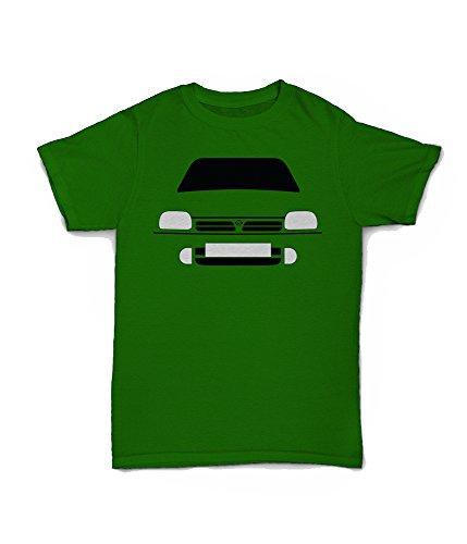 Retro Motor Company Nissan Micra K11 T-Shirt gelb