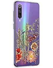Oihxse Mandala Flores Encaje Patrón Serie Case Compatible con Samsung Galaxy S4 Funda TPU Silicona Suave Protector Ultra Slim Anti-Rasguño Transparente Carcasa (A17)