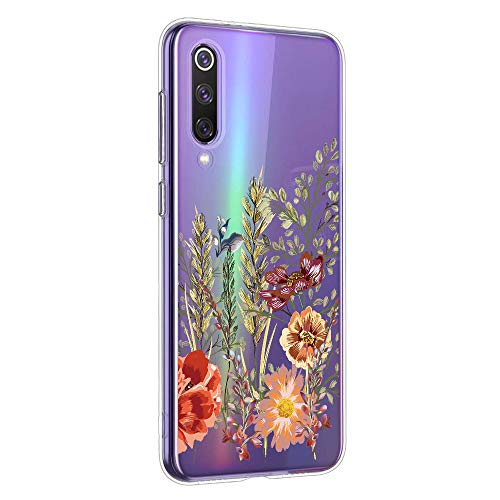 Oihxse Mandala Flores Encaje Patrón Serie Case Compatible con Huawei P20 Pro Funda TPU...