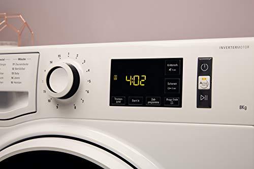 Bauknecht T Soft M11 82WK DE Wärmepumpentrockner/A++/8 kg/ActiveCare-Technologie/Leichte und schnelle Reinigung dank EasyCleaning-Filter/Wolle-Programm/Stratzeitvorwahl - 3
