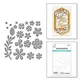 Spellbinders Petite Floral Potpourri Beautiful Sentiment Vignettes Collection by Becca Feeken Metal Etched Dies