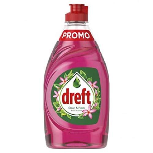 Dreft 4er Pack Handspülmittel Clean & Fresh - Pink Jasmine - 800ml