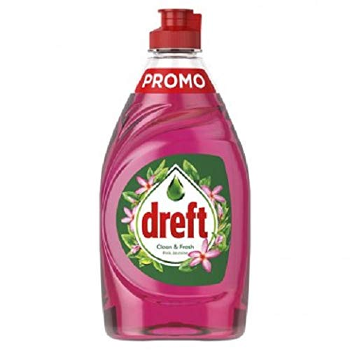 Dreft 4er Pack Handspülmittel Clean & Fresh - Pink Jasmine - 800ml