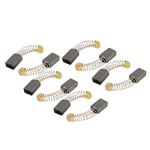 Sourcingmap Kohlebürsten, für Elektromotor, 13 mm x 8,5 mm x 5,5 mm, Handbohrer, Gebläse, Mixer, Elektrowerkzeug, Ersatzteil