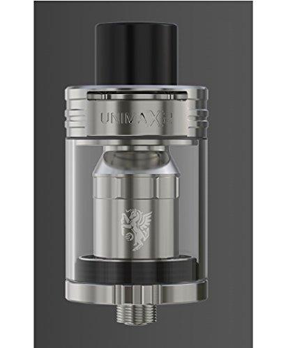 Joyetech - Atomizzatore UNIMAX 2-5 ml - 0.25ohm - Colore: argento - senza tabacco né nicotina - vietata la vendita ai minori di 18 anni