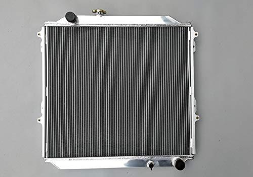 Radiador de aluminio para TOYOTA Hilux Surf KZN185 3.0L Diesel 1996-2002 Manual MT Producto nuevo. Este radiador es de diseño resistente, la capacidad de refrigeración aumenta aproximadamente un 30%. El núcleo del radaitor está soldado en horno de so...