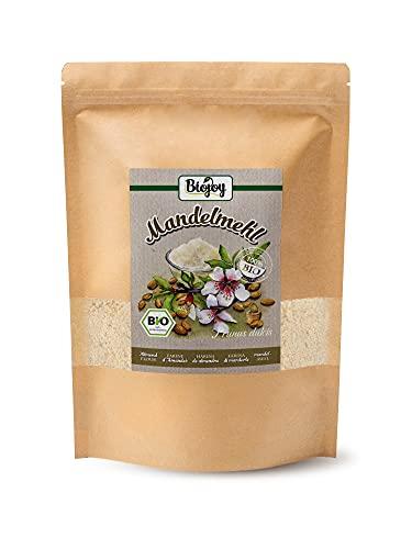 EKOLOGISKT MANDELMJÖL | Delvis oljat fint mandelmjöl från certifierad ekologisk odling – försiktigt malt och fritt från tillsatser. Naturligt. (1 kg)