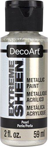 Artdeco DecoArt Americana Extreme Sheen - Bote de Pintura (acrílico, Perla, 3,5 x 3,5 x 10 cm)