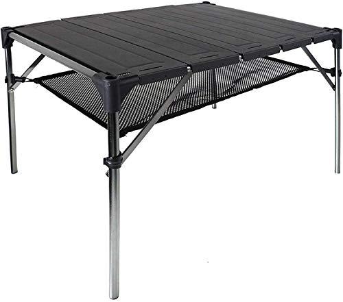 NiceDD Tavolo pieghevole da campeggio pieghevole Tavolo portatile leggero Tavolo pieghevole in alluminio per esterni compatto
