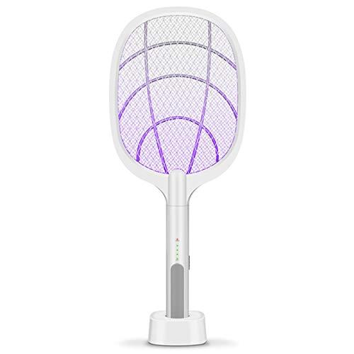 Lodenlli Matador de Mosquitos Multifuncional, Matador de Mosquitos de Doble propósito, lámpara para el hogar, matamoscas de Descarga eléctrica, matamoscas