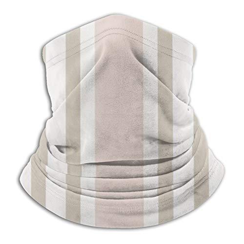 Art Fan-Design Unisex Mikrofaser-Gesichtsmaske, Polo, gestreift, weich, rosa, Bandana, Halstuch, Sturmhaube, wiederverwendbar, atmungsaktiv, Tuch für UV-Sonnenschutz, Staubschutz