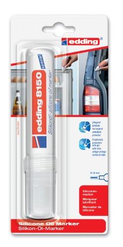 Edding 4-8150-1-4 - Marcador de protección anticongelación para juntas de goma, trazo de 4-12 mm