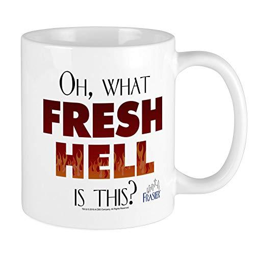 CafePress Frasier: Oh What Fresh Hell? Mug Unique Coffee Mug, Coffee Cup