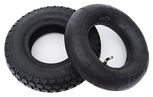 Neumáticos de scooter eléctricos, neumáticos neumáticos de goma 4.10 / 3.50-6, grueso y resistente al desgaste, adecuado for 3 ruedas eléctricas, carros de almacén, área de juegos Neumáticos de scoote