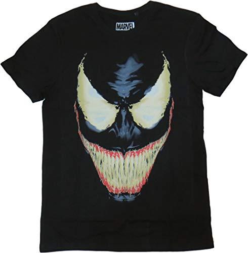 Marvel Carnage - Camiseta para hombre, color negro, talla L/L
