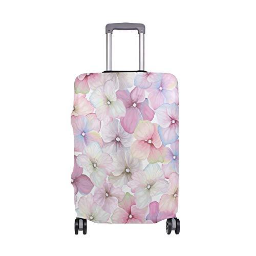 Orediy Vintage Rosa Fiori Stampa Elastico Viaggio Trolley Valigia Protettore (senza Valigia) S M L XL Taglia, Multi (Multicolore) - suitcasecover