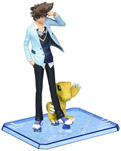 TAMASHII NATIONS Bandai Figuart Zero Taichi & Agumon Digimon Adventure Try Action Figure