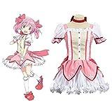Teakpeak Cosplay Uniform Anime Cosplay Cosplay Uniform Puella Magi Madoka Magica Cosplay Madoka Magica Cosplay Cosplay Anime Disfraz Chica - S