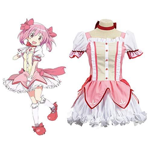 Teakpeak Cosplay Uniform Anime, Cosplay Schuluniform Puella Magi Madoka Magica Cosplay Madoka Magica Cosplay Anime Kostüm Mädchen - XXXL
