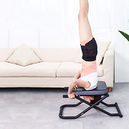 Learn More About DaQingYuntur Ergonomic Design Yoga Headstand Bench Yoga Inversion Chair Great for W...