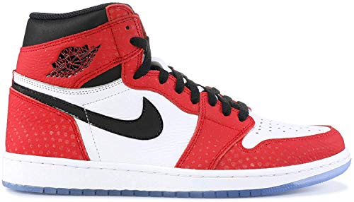 Nike Air Jordan 1 Retro High Og, Scarpe da Fitness Uomo, Multicolore (Gym Red/Black/White/Photo Blue 602), 45 EU