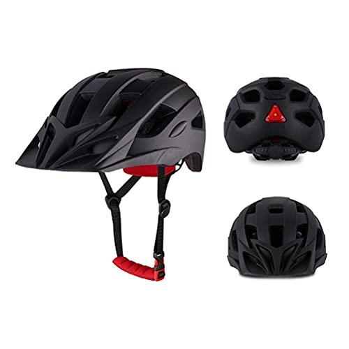 Sgfccyl Casco de bicicleta para adultos, casco de bicicleta ligero, cascos ajustables de montaña y carretera para hombre y mujer