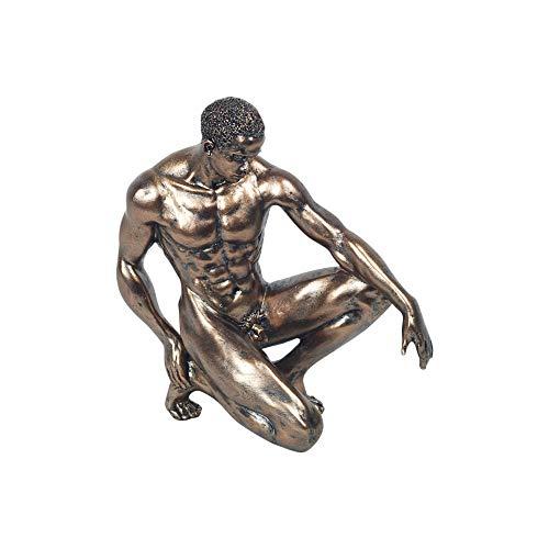 Vidal Regalos Figura Decorativa Clasica Hombre Desnudo Resina 20 cm