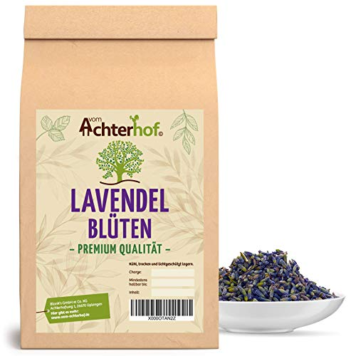 500 g Lavendel Lavendelblüten getrocknet original französischer Lavendel der Provence - Neue Ernte - Lebensmittelqualität natürlich vom-Achterhof