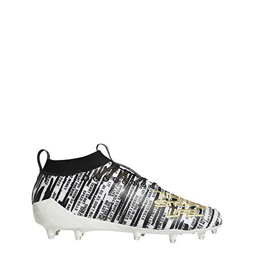 Adidas Adizero 8.0 - Zapatillas para Hombre, Blanco (Cloud White/Gold Metallic/Core Black), 42 EU