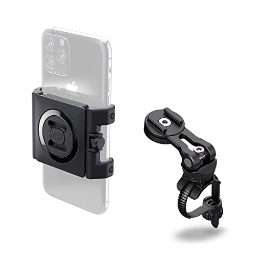 SP Connect Handyhalterung Bike Bundle II, Black/Transparant, Universal Clamp