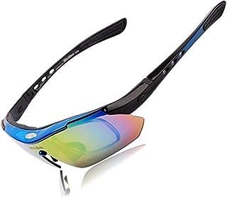 WOLFBIKE UV400 Men/Women Coating Polarized Sunglasses Safety Eyewear Goggle for Riding