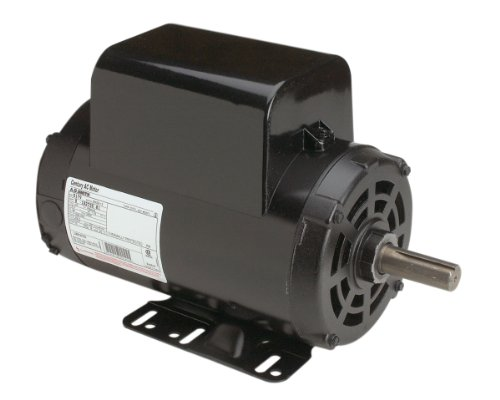 A.O. Smith B386 5 HP, 3600 RPM, 208-230 Volts, 56HZ Frame, 1.15 Service Factor, CWLE Rotation, 7/8-Inch by 2.31-Inch Flat Shaft Compressor Motor