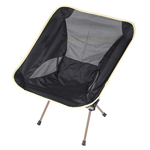 SALUTUYA Durable Lightweight Outdoor Chair Leisure Stool Sturdy,for Fishing with Storage Bag