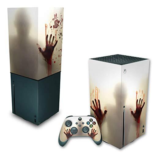 Capa Anti Poeira e Skin Xbox Series X - Fear The Walking Dead