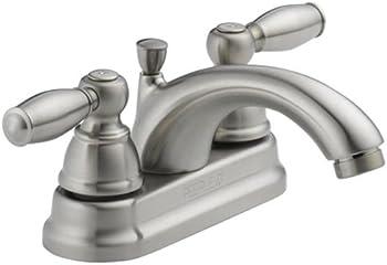 Peerless Apex Two Handle Bathroom Faucet (Brushed Nickel)