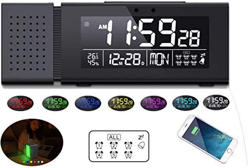 Radio Reloj Despertador Digital  marca Allnice
