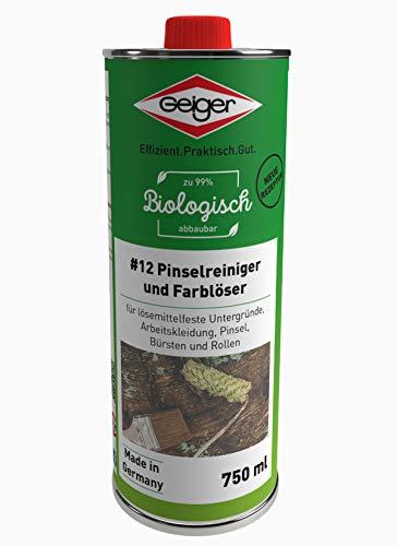 Geiger Chemie Nr. 12 Pinselreiniger & Farblöser 750ml Dose