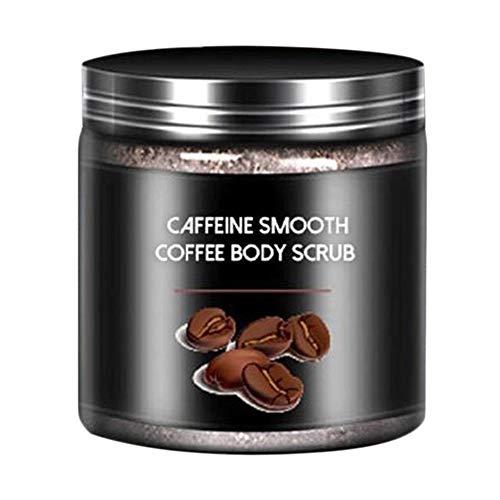 Natürliches Kaffee-Peeling Körperpeeling-Peeling-Creme für Gesicht Körper Fuß Beine Gesichtsbehandlung Salz aus dem Toten Meer Peeling Whitening...