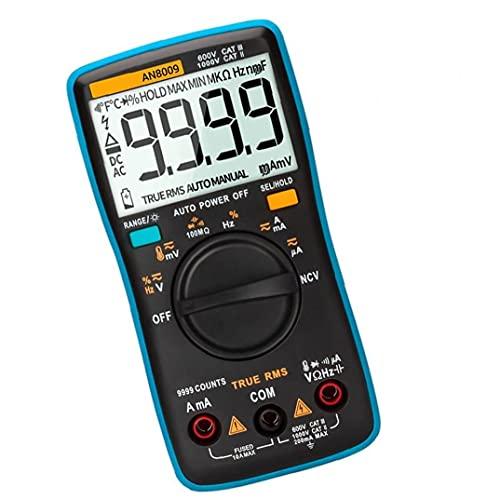 Yililay?Herramientas industriales ANENG AN8009 Multímetro Digital Función de Voltaje automotriz Herramienta de medición de Metros electrónicos