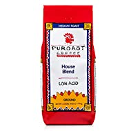 Puroast Low Acid Ground Coffee, House Blend, High Antioxidant, 2.5 Pound Bag