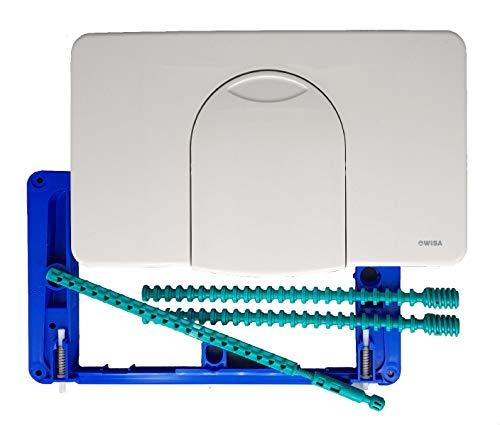 WISA 2100 | Bedien Platte Modell W 2100 SU weiß Betätigung Drückerplatte