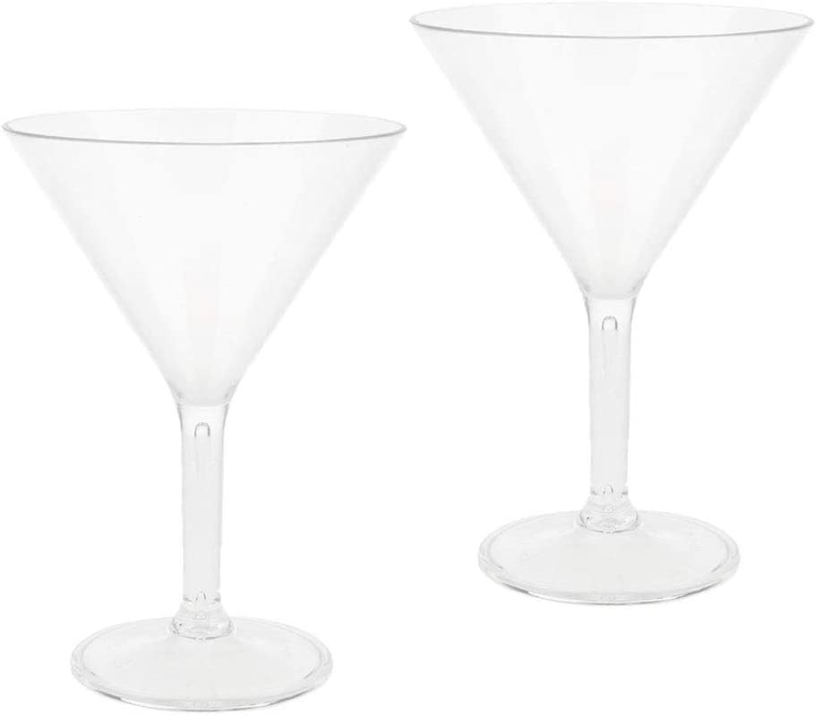 Baoblaze 2Pcs Creative Martini Sales results SEAL limited product No. 1 Goblet Glass Cup Cocktail Shatte