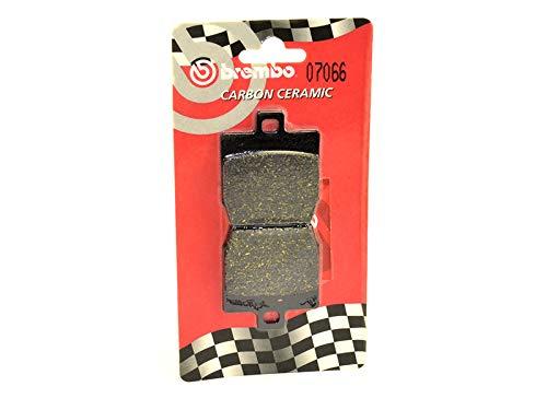 BREMBO - Pastillas de freno TRASERAS Carbon Ceramic YAMAHA AEROX