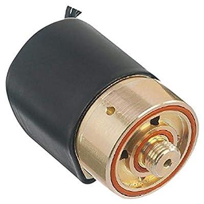 "Gems Sensors D2017-C111 430F Stainless Steel General Purpose High Flow Solenoid Valve, 50 psig Pressure, 0.7 Cv, 1/4"" Orifice, 120 VAC Voltage, 60 Hz by Gems Sensors & Controls"